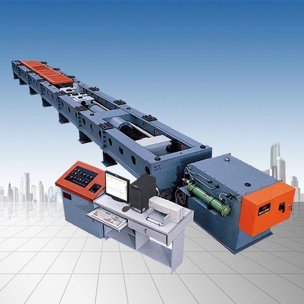 1000KN/100吨微机屏显卧式拉力试验机